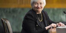Janet Yellen, la nouvelle patronne de la Fed rappelle qu'elle est impuissante pour réguler la monnaie virtuelle. (Photo Reuters)