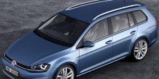 La Golf VII (ici en brek SW) est la clé de voûte des ventes du groupe automobile allemand
