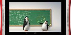 Grâce au partenariat avec DreamWorks, Fuhu travaillera avec les animateurs derrière Shrek, les pingouins de Madagascar ou encore Kung Fu Panda. La DreamTab permettra notamment aux enfants d'apprendre à dessiner leurs personnages favoris.