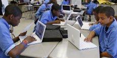 Si l'ensemble des lycées publics ont aujourd'hui accès à internet, seuls 67% disposent de connexions à très haut débit.