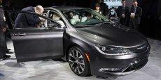 L'Alfa Giulietta présenté lors du salon de Detroit/ Reuters