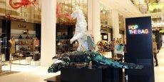 La galerie marchande du Carrousel du Louvre attire 16,7 millions de visiteurs par an, selon Unibail-Rodamco