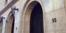 L'ancien siège de l'UMP, au 55 rue de la Boétie, accueillera désormais les startups parisiennes soutenues par le Crédit Agricole. | REUTERS
