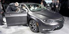 La nouvelle Chrysler 200, sur base Fiat, présentée à Detroit en janvier 2014