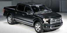 Le Ford F 2014 se voit allégé de 300 kilos