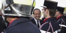 François Hollande, ce samedi en Corrèze