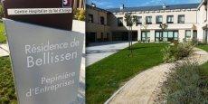 La pépinière d'entreprises Cap Bellissen, à Foix. © DR