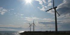 GDF Suez, en partenariat avec le portugais EDP Renewables et le français Neoen Marine, s'appuiera sur une nouvelle turbine de 8 mégawatts (MW) développée par Areva pour construire 124 éoliennes au large du Tréport (Seine-Maritime) d'une part, de l'île d'Yeu et de Noirmoutier (Vendée) d'autre part pour une capacité totale de 1.000 MW, équivalant à la puissance d'un réacteur nucléaire