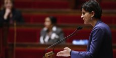 Najat Vallaud Belkacem, ministre des droits des femmes à l'Assemblée Nationale