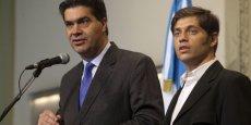Jorge Capitanich indique avoir atteint son objectif en terme de dévaluation. (Reuters/Marcos Brindicci)