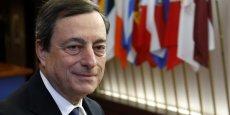 La BCE se réserve le droit de racheter des prêts bancaires, assure Mario Draghi. (Reuters/Francois Lenoir)