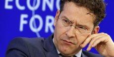 Jeroen Dijsselbloem, président de l'Eurogroupe, veut un contrôle des capitaux en Grèce