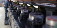 La production a chuté de 11,7% dans les matériels de transport hors automobile. (Photo : Reuters)