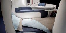 Le nouveau siège de classe affaires d'Air France