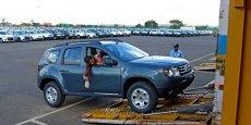 l'usine Renault-Nissan de Chennai dans l'Inde du Sud. / DR