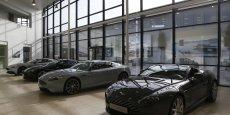 La gamme Aston Martin