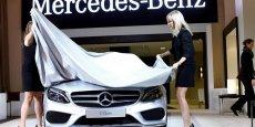 La nouvelle Classe C de Mercedes est produite en Allemagne pour l'Europe.
