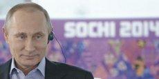 Le président russe, Vladimir Poutine, a déployé tant « d'efforts » pour l'organisation des JO à Sotchi en 2014 qu'en Russie ces Jeux sont surnommés les « Jeux de Poutine »./ DR