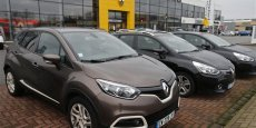 Un concessionnaire Renault