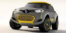 Renault Kwid: ce concept se veut une illustration de ce que pourrait être la prochaine voiture à très bas coûts de la marque française. / DR