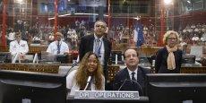 La Cour des Comptes suggère à François Hollande de faire participer l'Union européenne aux frais du site de Kourou, en Guyane. (Reuters/Alain Jocard)