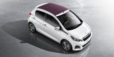 La Peugeot 108 n'est pas proposée en diesel