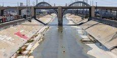 Une vue de la « L.A. River » au niveau du viaduc Sixth Street./ DR