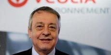 Antoine Frérot, PDG de Veolia Environnement, avait lui même reconnu début mars que Dassault avait tenté de le remplacer à la tête du groupe. REUTERS.
