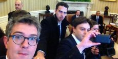 Les journalistes français rappelés à l'ordre par la Maison Blanche. / DR
