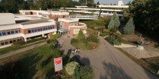 Le campus de l'EMLyon à Ecully.