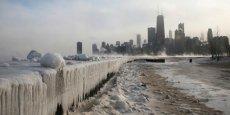 Inédite depuis vingt ans, une vague de froid exceptionnelle paralysat début janvier, le centre, le nord et l'est du pays des Etats-Unis./ Reuters