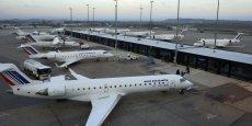 Le recul d'Air France sur Lyon impacte le trafic de Saint-Exupéry