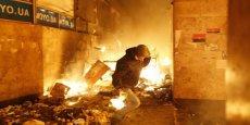 C'est une violation criante de la loi et les coupables comparaîtront devant la justice, a réagi le préident ukrainien Viktor Ianoukovitch aux violences qui ont fait 16 morts mercredi. (Photo : Reuters)