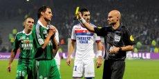 Entre Lyon et Saint Etienne il n'y a pas que le football qui divise. ©Laurent Cerino/Rea