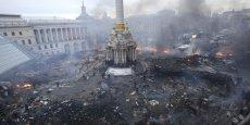 Le président ukrainien a annoncé mercredi soir une trêve avec l'opposition. / DR