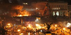 Dans la soirée de mercredi, le président ukrainien Viktor Ianoukovitch a annoncé la trève avec l'opposition. (Reuters/David Mdzinarishvili)