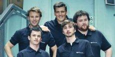La nouvelle histoire belge de l'équipe de 87seconds.com créee par Thibaut Dehem (à gauche au deuxième plan). / DR