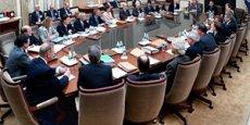 Les membres du Comité monétaire de la Réserve fédérale américaine (Fed) craignent l'ouverture d'une longue période de tensions géopolitiques. Reuters