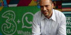 Le co-fondateur de la messagerie instantanée WhatsApp siégera désormais au conseil d'administration de Facebook.
