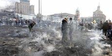Un accord a été trouvé entre le pouvoir ukrainien, l'opposition, l'UE et la Russie, à l'issue de négociations marathon après un bain de sang à Kiev. (Reuters/Vasily Fedosenko)