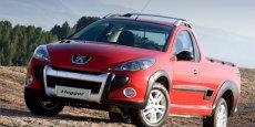Le pick-up Peugeot Hoggar brésilien