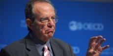 Pier Carlo Padoan, 64 ans,  a fondé un think tank baptisé  Italianieuropei. (Photo OCDE)