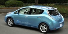 La Nissan Leaf, lancée en 2000, est la première voiture électrique vendue dans le monde.