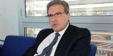 Marc Dufour, le président du directoire de la SNCM @Terzian