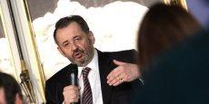 Guillaume Sarkozy, interrogé par Philippe Mabille dans le cadre du club Entreprises La Tribune-CCIP.  Photo G. Brehinier/CCI Paris Idf