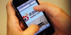 Les recettes publicitaires de Weibo se sont envolées au quatrième trimestre 2013, avec une progression de 162% sur un an.