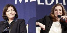 La candidat PS (à gauche) l'emporterait face à sa rivale UMP avec 53% des suffrages