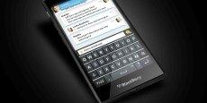 BlackBerry mise sur les pays émergents avec un nouveau smartphone, un modèle low-cost, le Z3, qui sera vendu moins de 200 dollars (DR)