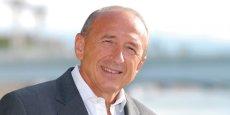 Gérard Collomb, maire (PS) de Lyon depuis 2001. / DR