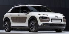 Au salon automobile de New York, la Citroën Cactus a reçu le prix du design.